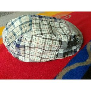 J Crew Classic Driving Plaid Cap